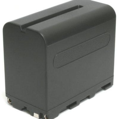 Accu NP-F960 + accu-lader voor Ledgo lamp LG-24F en B160C