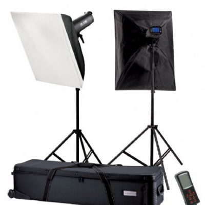 Falcon Eyes Studioflitsset TFK-21200L met LCD Scherm