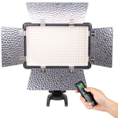 Godox LED camera verlichting - LED 308W II - met barndoor