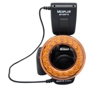 Mcoplus MRF-18 Macro LED Licht / Ringflitser